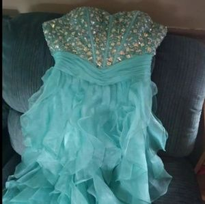 Juliet high low prom/homecoming dress